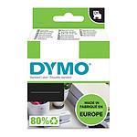 DYMO Ruban RHINO en polyester permanent noir sur blanc 19 mm x 5.5 m