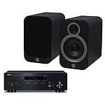 Yamaha MusicCast R-N303 Noir + Q Acoustics 3030i Noir