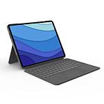 "Logitech Combo Touch (iPad Pro 12.9"") (Gris Oxford)"