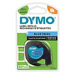 DYMO LetraTAG Ruban d'Étiquettes Noir/Bleu
