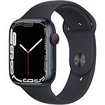 Apple Watch Series 7 GPS + Cellular Aluminium Midnight Sport Band 45 mm