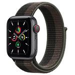 Apple Watch SE GPS + Cellular Space Grey Aluminium Sport Loop Tornado/Grey 44 mm