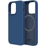QDOS Case Touch Pure avec Snap Bleu pour iPhone 13 mini