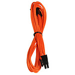BitFenix Alchemy Orange - Extension d'alimentation gainée - PCI Express 6 broches - 45 cm