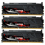 G.Skill Sniper Series 12 Go (3x 4 Go) DDR3 1600 MHz - 1.25 V