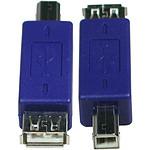 Adaptateur USB 2.0 type A femelle / B mâle
