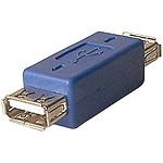 Adaptador USB 2.0 tipo A hembra / A hembra