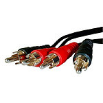 Cable de audio 2 RCA (5 metros)
