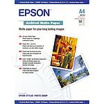 Epson C13S041342 - Papier mat archival A4 (50 feuilles)