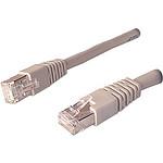 Câble RJ45 catégorie 6 STP 5 m (Gris)