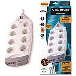 Belkin SurgeMaster série Maximum - Bloc parafoudre (8 prises secteur + 2 prises téléphone)