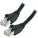 Câble RJ45 catégorie 6 S/FTP 0.5 m (Noir)
