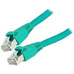 Cable RJ45 de categoría 6 S/FTP 3 m (verde)
