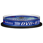 Verbatim DVD+R 4.7 GB 16x (por 10, spindle)