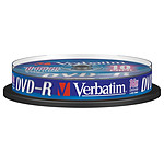 Verbatim DVD-R 4.7 GB 16x (por 10, spindle)