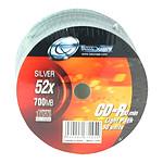 Tx CD-R 700 Mo Certifié 52x (pack de 50, light pack)
