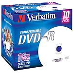 Verbatim DVD-R 4.7 GB 16x imprimible (por 10, caja)