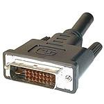 Câble DVI-D (Dual Link) Mâle/Mâle (15 m)