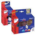 Pelikan PowerPad compatible CLI-8 BK C M Y (Pack de 3)