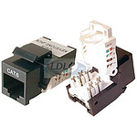 Base RJ45 corta CAD Cat.6 - STP Blindada