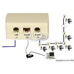Filtro ADSL maestro (Francia)