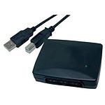 Adaptateur USB pour 2 manettes PlayStation