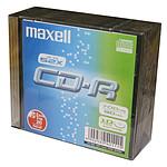 Maxell CD-R (pack de 10, boîtier slim)