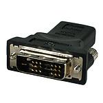 Sapphire Adaptateur HDMI Femelle - DVI-D Dual-Link Mâle
