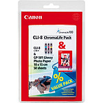 Canon CLI-8 ChromaLife Pack