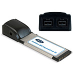 LaCie carte contrôleur ExpressCard 34 (2 ports FireWire 800)