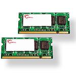 G.Skill SODIMM 4 Go (2x 2Go) DDR2 667 MHz