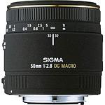 SIGMA 50mm F2,8 DG Macro EX monture Canon
