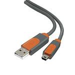Belkin - Câble USB 2.0 pour périphérique mini USB - 2 m
