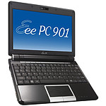 "ASUS Eee PC 901 Noir - Intel Atom N270 1 Go SSD 16 Go 8.9"" TFT Wi-Fi N/Bluetooth Webcam WXPH"
