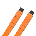 LaCie Flat Cable - Câble IEEE 1394 (FireWire 800) 9/9 mâle/mâle 1.2 m