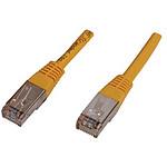 Cable RJ45 de categoría 6 F/UTP 1 m (amarillo)