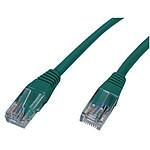 Cable RJ45 de categoría 5e U/UTP 3 m (verde)