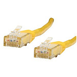Cable RJ45 de categoría 6 U/UTP 0,5 m (amarillo)