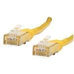 Cable RJ45 de categoría 6 U/UTP 1 m (amarillo)