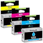 Lexmark multipack 100 (Cyan + Magenta + Jaune)