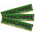 Kingston ValueRAM 6 Go (3x 2Go) DDR3 1333 MHz ECC Registered CL9