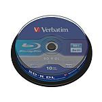 Verbatim BD-R DL 50 Go 2x (par 10, spindle)