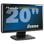 """iiyama 20"""" LCD - ProLite E2008HDS-B1"""
