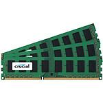 Crucial 24 Go (3 x 8 Go) DDR3 1333 MHz CL9