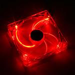 Xigmatek Crystal Series 140 mm LED Rouge