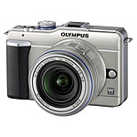 Olympus E-PL1 champagne + Objectif 14-42mm argent
