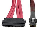 Câble miniSAS (SFF-8087) vers SAS (SFF-8484) - 0.5 m