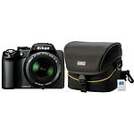 Nikon Coolpix P100 Noir + Etui Nikon CS-P03 + Carte SD 4 Go