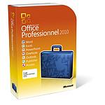 Microsoft Office Professionnel 2010 - 2 PC / 1 utilisateur (DVD)