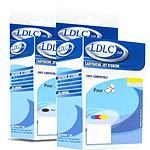 LDLC pack compatible PGI-5BK (Noir) + CLI-8 (BK+C+M+Y)